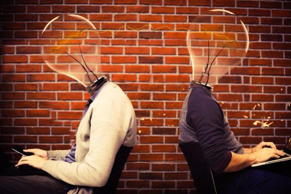 idea, teamwork, thinking